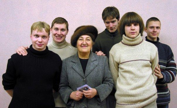 Вместе с директором клуба ЧЗЭМ Юлией Сергеевной