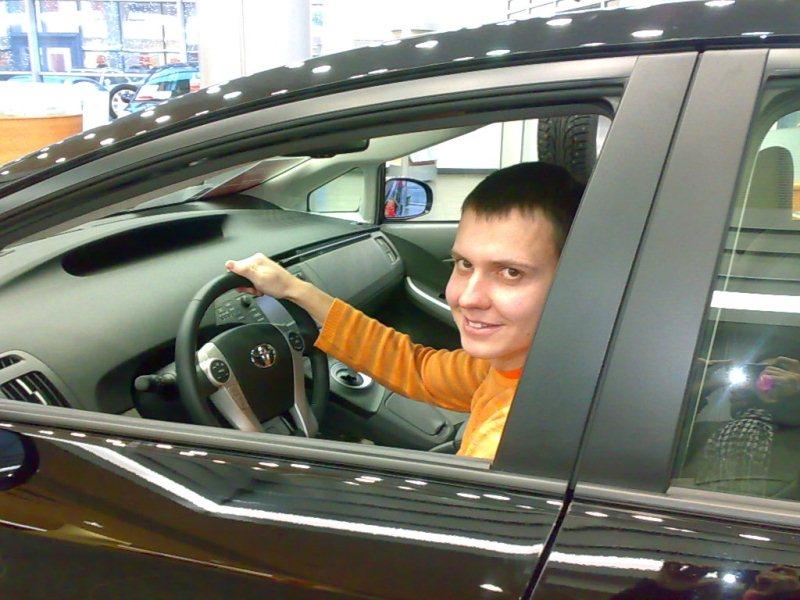 Я и Toyota Prius