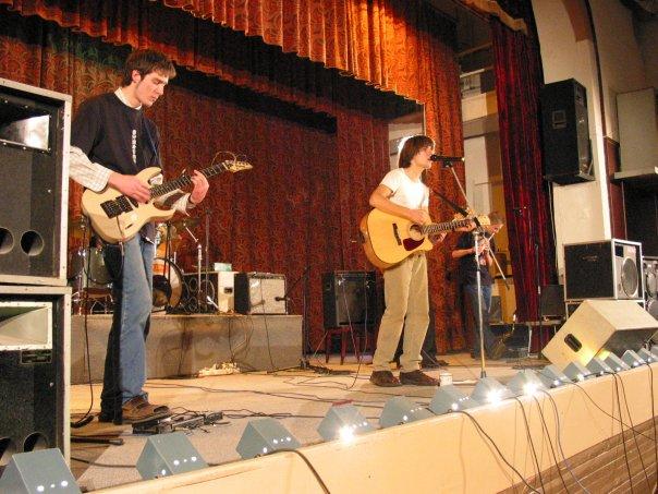 Концерт, посвященный 3-хлетию группы на сцене клуба ЧЗЭМ
