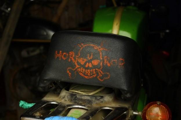 Сиденье мотоцикла Horror